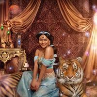 Aurel Hermansyah bergaya Putri Jasmine dalam unggahan terbarunya (Dok.Instagram/@aurelie.hermansyah/https://www.instagram.com/p/BrEwecSnKKJ/Komarudin)