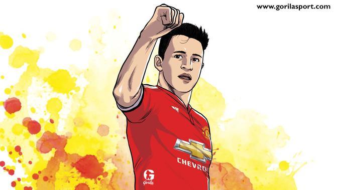 Alexis Sanchez Tak Bersinar Mourinho Pasang Badan Inggris Bola Com