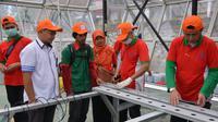 BLK Lembang terapkan otomatisasi untuk pertanian hidroponik. (foto: dok. Kemnaker)