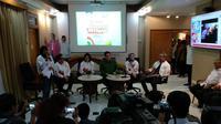 Ketua Tim Kampanye Nasional (TKN) Jokowi-Ma'ruf, Erick Thohir. (Liputan6.com/Putu Merta Surya Putra)