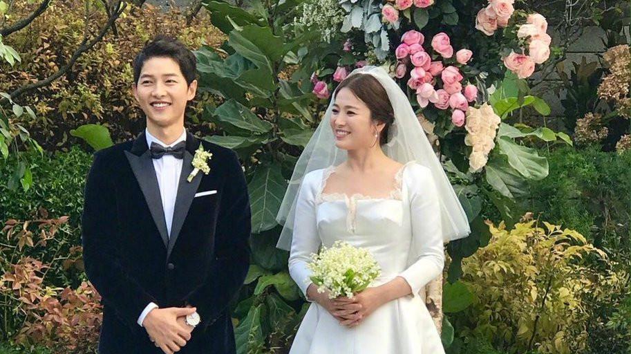 Song Joong Ki dan Song Hye Kyo (Instagram)