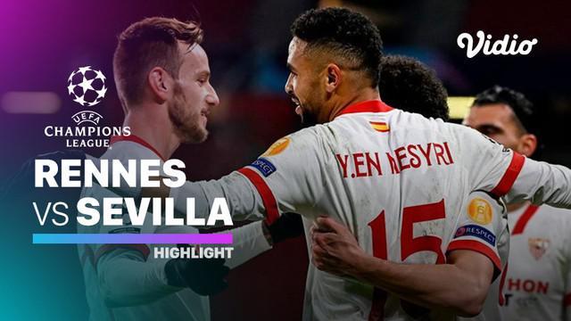 Berita video highlights matchday 6 Grup E Liga Champions 2020/2021 antara Rennes melawan Sevilla yang berakhir dengan skor 1-3, Rabu (9/12/2020) dinihari WIB.