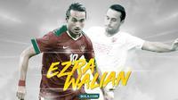 Ezra Walian. (Bola.com/Dody Iryawan)