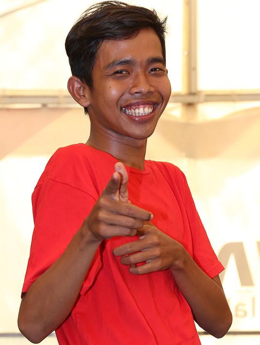Dede Sunandar, pemeran utama serial komedi 'Super Dede'. (Galih W. Satria/Bintang.com)