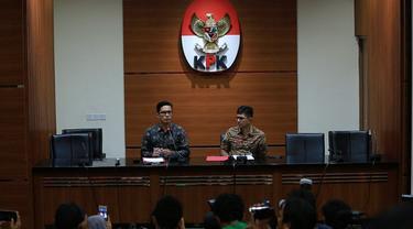 KPK menetapkan Bupati Jombang sebagai tersangka kasus suap. Sang Bupati diduga menerima sejumlah uang untuk terkait penempatan jabatan di Pemkab Jombang.