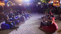 Suasana di Mobile Legends Bang Bang (MLBB) Carnival Kota Malang.  (FOTO / Moonton)