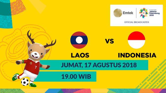 Jadwal Siaran Langsung Sepak Bola Asian Games di SCTV: Laos Vs Indonesia  Asian Games Bola.com