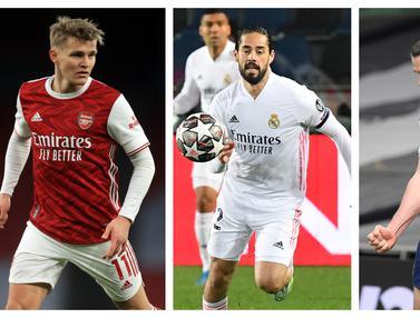FOTO: 6 Pemain Real Madrid yang Seharusnya Hengkang akibat Kalah Bersaing, termasuk Gareth Bale