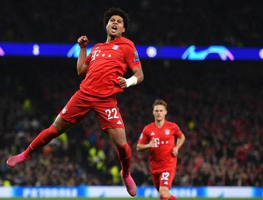 Bayern Munchen Bantai Tottenham 7-2, Serge Gnabry Quatrick