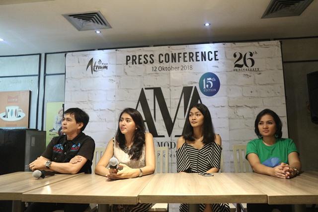Acara Konferensi Pers AMA di Jakarta, Jumat (12/10/18)/copyright vemale.com/Stella Maris