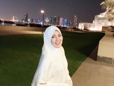 Momen Via Vallen Saat Memakai Hijab, Semakin Menawan