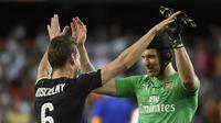 Petr Cech menjalani musim terakhir dengan Arsenal. (AFP/Jose Jordan)