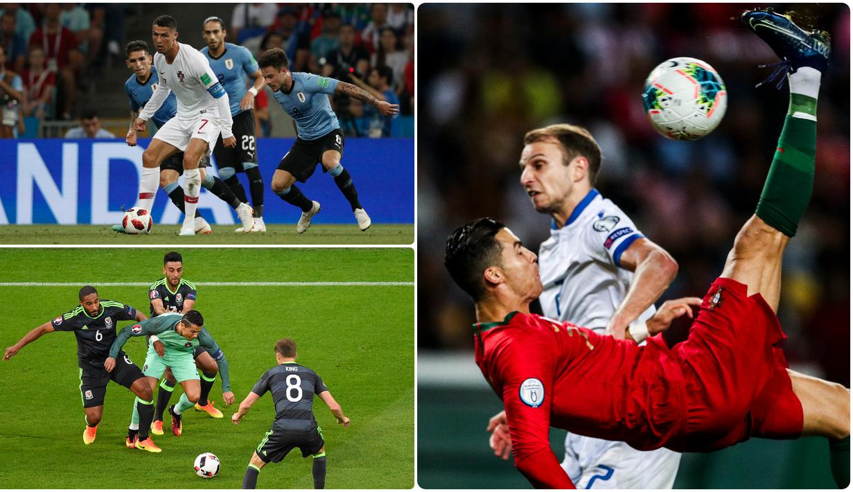FOTO Aksi Keren Cristiano Ronaldo Bersama Timnas Portugal