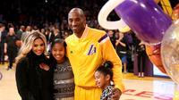 Tak hanya itu saja, kedua buah hati Kobe Bryant sangat menginginkan kehadiran adik di tengah keluarga mereka. (AFP/Bintang.com)