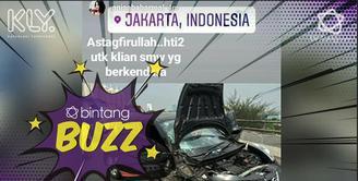 Anisa Bahar baru saja alami kecelakaan hebat.