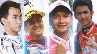 Moto2 - Rapor Pembalap Indonesia di Moto2: Doni Tata, Rafid Topan, Dimas Ekky, Andi Gilang (Bola.com/Adreanus Titus)