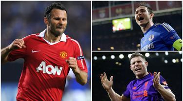 Legenda Manchester United, Ryan Giggs, hanya berada diurutan kedua sebagai pemain dengan penampilan terbanyak di Liga Inggris. Sementara pemain Liverpool, James Milner, menjadi satu-satunya pemain berstatus aktif yang masuk dalam daftar tersebut.