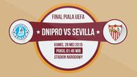 Dnipro vs Sevilla (Liputan6.com/Sangaji)