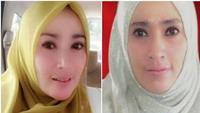 Intip Gaya Hijab Mewah dan Riasan Mata Seksi Pilihan Firza Husein