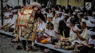 Melihat Prosesi Tawur Agung Kesanga di Pura Aditya Jaya Rawamangun