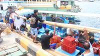 Bitung merupakan kota pelabuhan terbesar di Indonesia timur, namun menjadi favorit warga Filipina tinggal. (Liputan6.com/Yoseph Ikanubun).