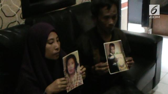 Dua anak kakak beradik hilang dari rumah selama seminggu setelah ditinggal sang ibu ke pasar.