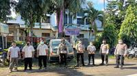 Proses pengamanan ibadah Paskah di sejumlah gereja di MInahasa Selatan, Sulut.