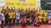 Jakarta Popsivo Polwan menjuarai Proliga 2019. (Bola.com/Vincentius Atmaja)