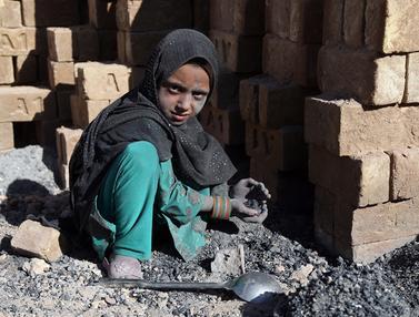 Potret Miris Pekerja Anak di Afghanistan