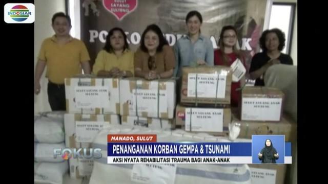 Aksi ini merupakan bagian wujud nyata rehabilitasi trauma terhadap anak-anak di Sulawesi Tengah yang terdampak bencana.