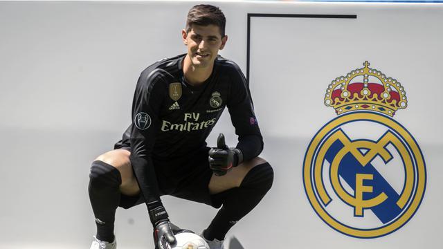 La liga, Real Madrid, Thibaut Courtois