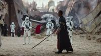 Aktor Hong Kong Donnie Yen di trailer perdana Rogue One: A Star Wars Story. (Disney / LucasFilm)