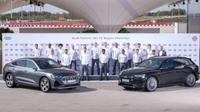 Audi e-Tron untuk pemain Bayern Munich FC (Audi via Autoevolution)