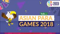 Asian Para Games 2018 (Bola.com/Adreanus Titus)