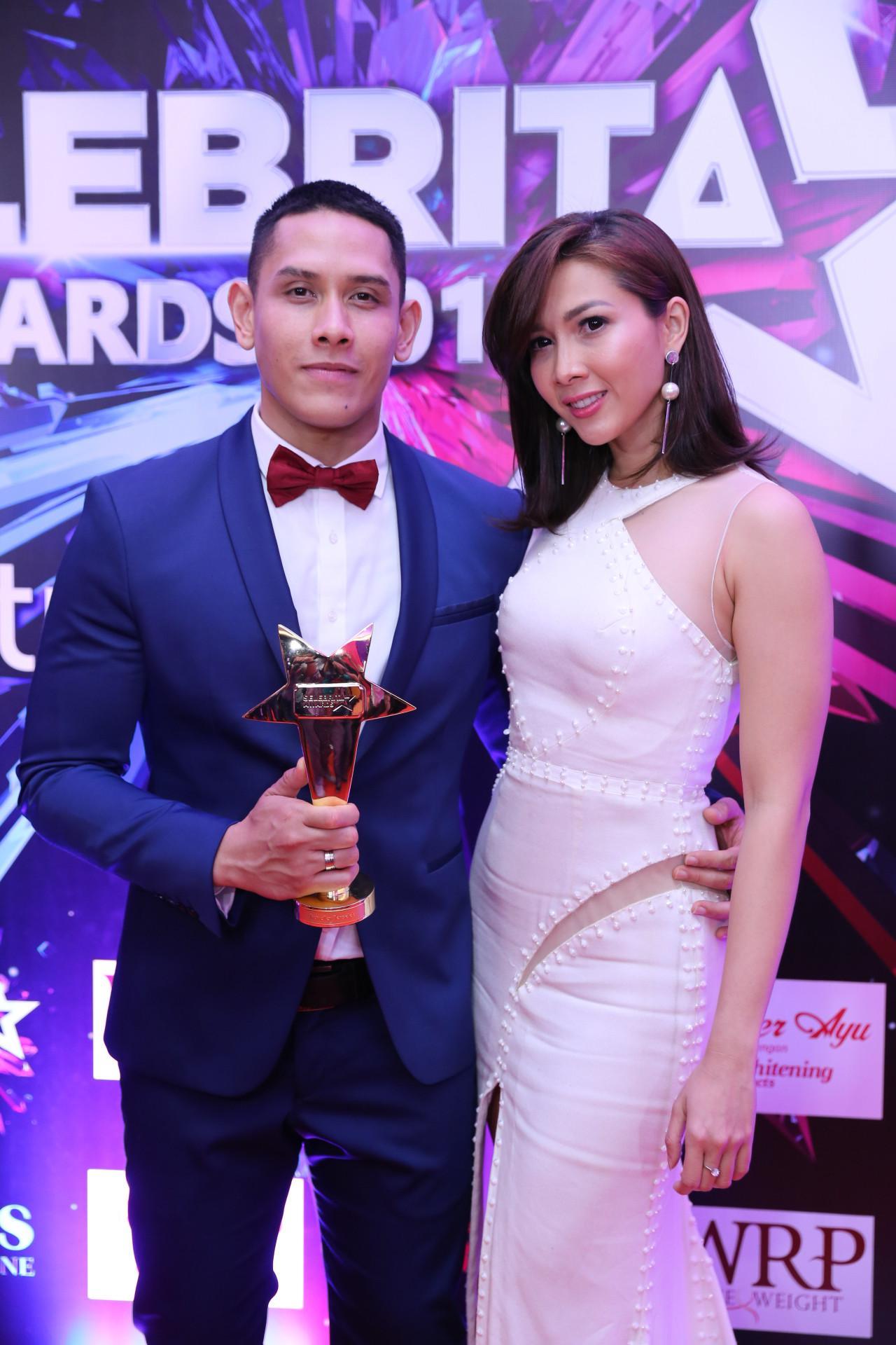 Ganindra Bimo dan Andrea Dian. (Adrian Putra/Bintang.com)