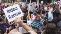 Ilustrasi rasis. (iStockphoto)
