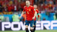 Gelandang timnas Spanyol, Andres Iniesta (Twitter/Iniesta)
