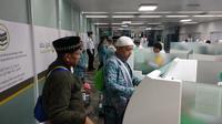 Ditjen Imigrasi Menyiapkan Counter Khusus Bagi Jemaah Haji yang Pulang ke Tanah Air. (Foto: Istimewa).
