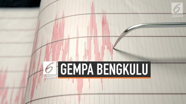 Gempa mengguncang wilayah Bengkulu, Rabu (10/7/2019), pukul  05:54 WIB. Gempa tersebut tidak berpotensi tsunami dan berkekuatan Magnitudo (M) 4,7. Gempa memiliki kedalaman 16 km di bawah permukaan bumi