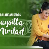 Naysila Mirdad (( Fotografer: Adrian Putra, Digital Image: Muhammad Iqbal Nurfajri)