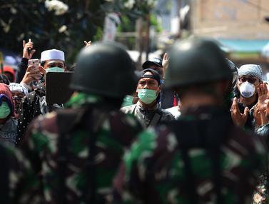 TNI Turun Tangan Redam Massa di Petamburan