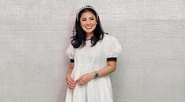 FOTO: Pesona Nindy Ayunda dengan Simple Dress, Menawan