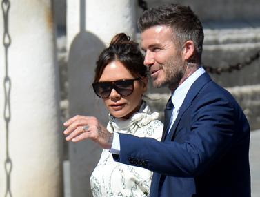 Beckham hingga Roberto Carlos Hadiri Pernikahan Sergio Ramos