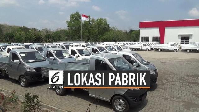 Presiden Jokowi meresmikan pabrik perakitan mobil Esemka pada Jumat (6/9/2019).