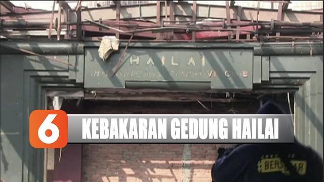 Sempat terkenal jadi tempat hiburan malam terkenal di Jakarta, Gedung Hailal, Ancol, ludes terbakar.