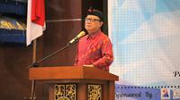 Universitas Udayana mengadakan Seminar Nasional 2018 Ilmu Politik dengan tema Masa Depan Kedaulatan Masyarakat di Indonesia, Peran Supremasi Hukum dan Akuntabilitas Publik, sabtu (10/11/2018).