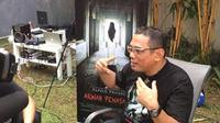 Dedi Ginanjar Reksawardana sutradara film 'Alpha Project Arwah Penasaran'. (liputan6.com/Meiristica Nurul)