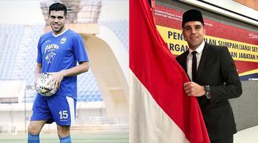 6 Potret Fabiano Beltrame, Bek Persib Bandung Jadi WNI