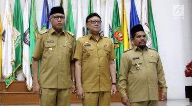 Menteri Dalam Negeri Lantik Plt Gubernur Aceh dan Bupati Bener Meriah