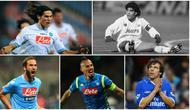 Berikut ini para penyerang terbaik dunia yang pernah membela Napoli. Selain sang legenda Diego Maradona ada juga nama Gianfranco Zola hingga Edinson Cavani.